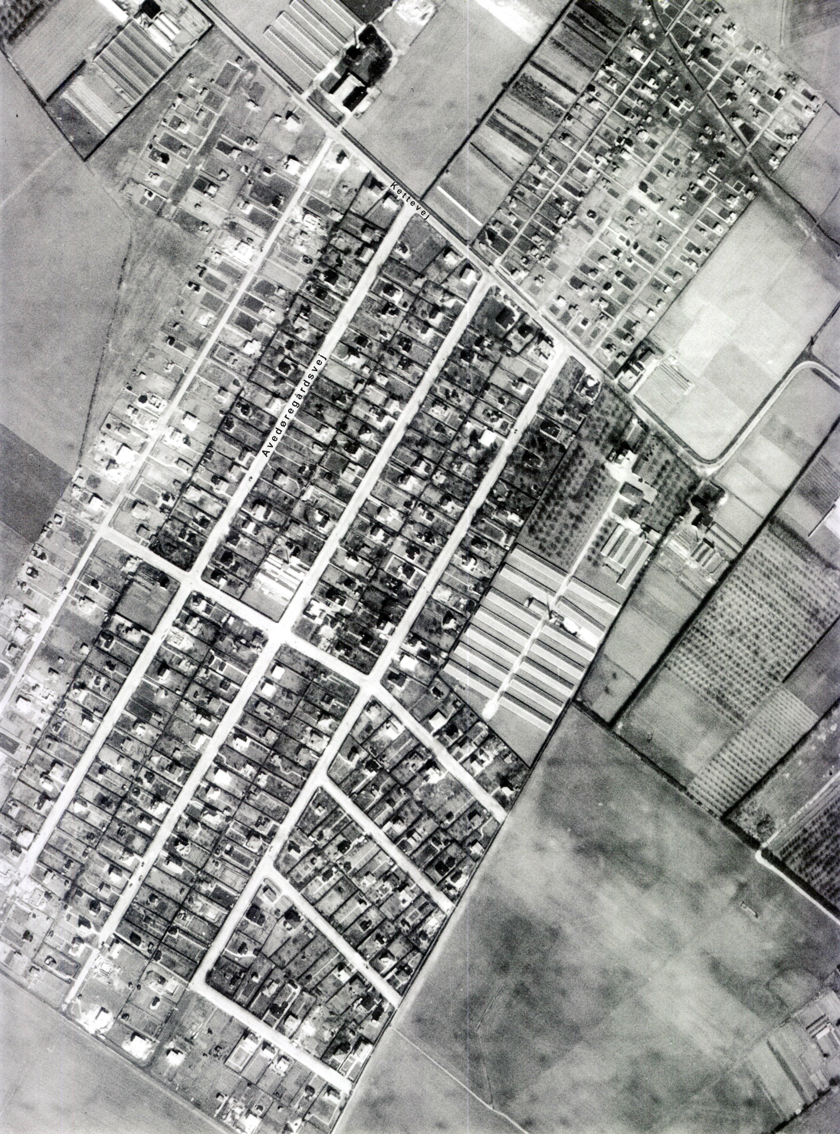 Hvidovre - Gamle Kort og Luftfoto