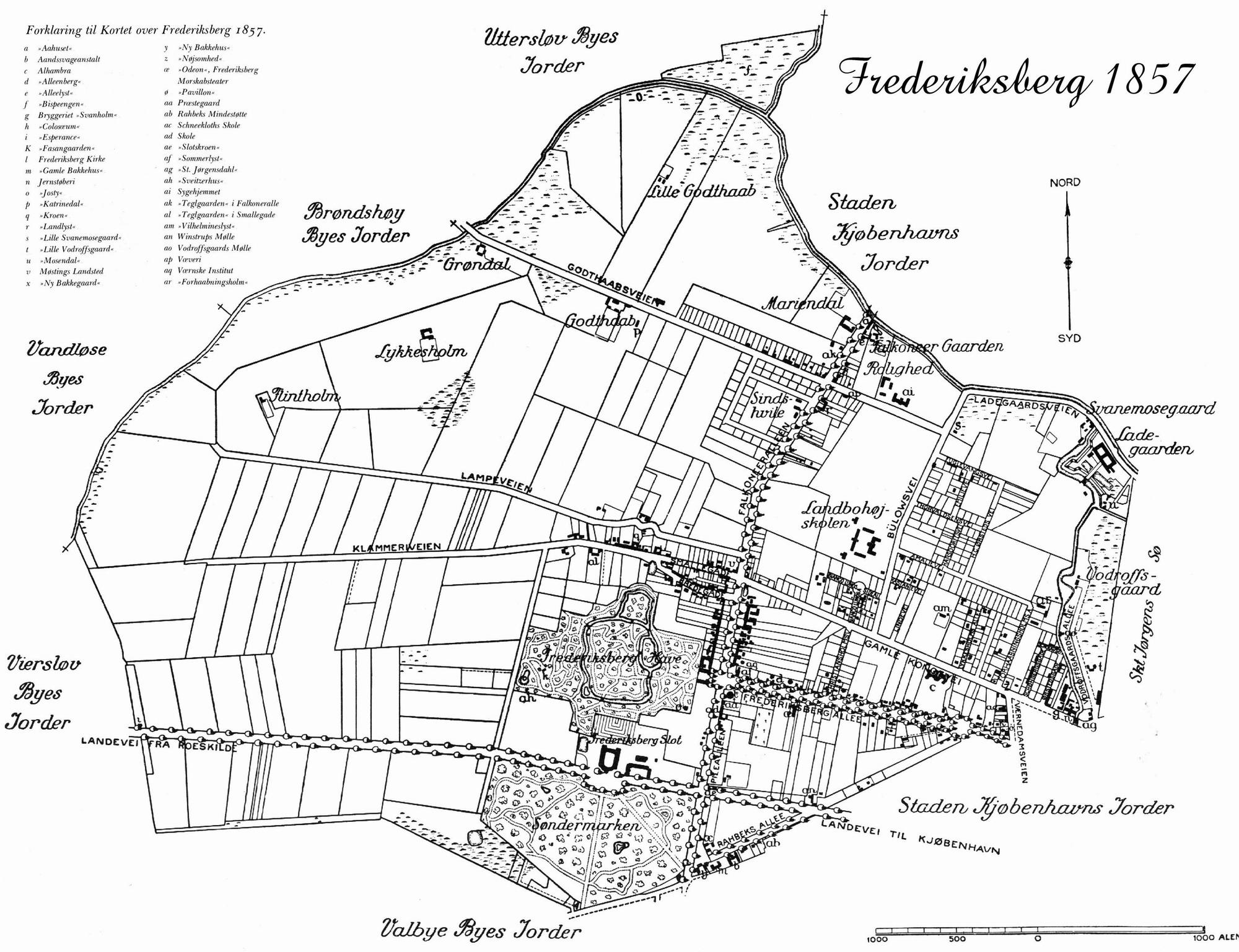 Taxafinns Lokalhistorie Falkoner Alle S Historie
