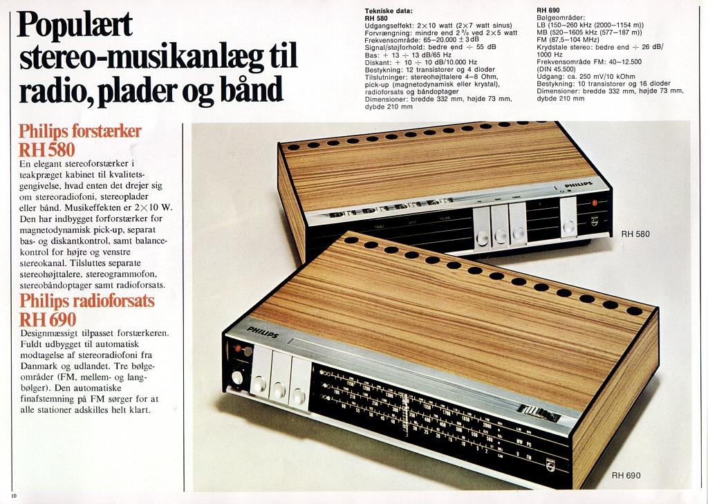 philips stereo catalogue 1971 danish